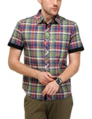 Yepme Men's Checks Cotton Shirt - YPMSHRT0424