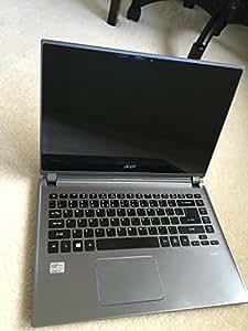 Acer M5-481PT-6644 Touchscreen Ultrabook (3rd Generation Intel i5-3337U, 1.8ghz, 6GB DDR3 Memory, 500GB Hard Drive, 20GB SSD, 14-inch HD CineCrystal LED-backlit display, DVD+/-RW, WebCam Bluetooth, HDMI, Windows 8) (Silver Metallic)