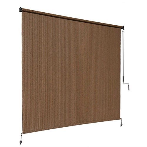 Awardpedia Coolaroo Exterior Cordless Roller Shade 6ft X 6ft Mocha