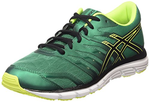ASICS Gel-zaraca 4 - Scarpe Running Uomo, Verde (pine/flash Yellow/black 8807), 44 EU