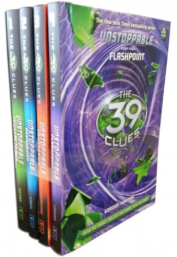 39 Clues Unstoppable Series 2 -  4 Books Set Collection Pack (Nowhere To Run, Breakaway, Countdown, Flash Point ). (39 Clues Collection compare prices)