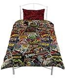 Marvel Comic Heroes Single Duvet