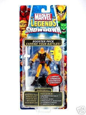 Buy Low Price Toy Biz Marvel Legends Showdown Yellow Daredevil Variant Figure (B000QFQ59O)