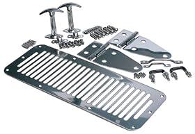 Rampage 7499 Stainless Steel Complete Hood Kit
