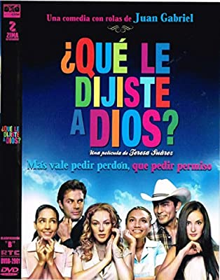 QUE LE DIJISTE A DIOS? (ERIKA DE LA ROSA,VICTOR GARCIA,MARK TACHER) [NTSC/REGION 1 & 4 DVD. IMPORT-Latin America].