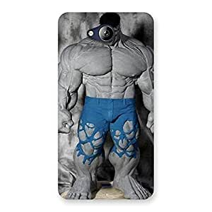 Special Blue Big Guy Back Case Cover for Canvas Play Q355