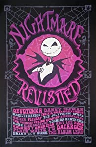 Amazon.com: Nightmare Before Christmas Revisited - Poster - Rare ...