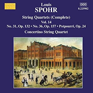 Spohr: String Quartets, Vol 14