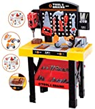 Kids Childrens Toy Tool Set Box Role Play Work Bench Construction Kit DIY Play Set