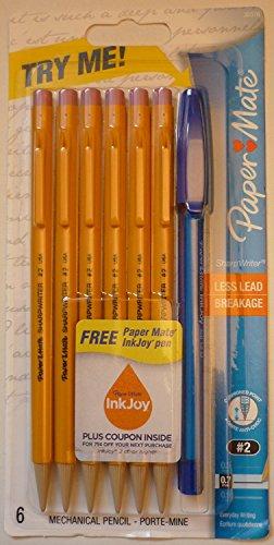 paper-mate-3037631pp-sharpwriter-twist-matita-meccanica-solidago-07-mm-bustine-da-paper-mate