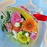 149【お祝い 誕生日 ギフト】【花束】ミニ花束・・ベイビーカラーミックス
