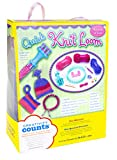 Creativity for Kids Quick Knit Loom - Teaches Beneficial Skills and Creativity - Easy to Use - For Ages 7 and Up