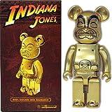 400% Indiana Jones Golden Idol Golden Bear statue Brick (Medicom Toy BE @ RBRICK) MEDICOM TOY EXHIBITION 08 limited (japan import)