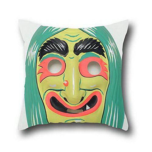 Mr Ozzello Halloween Mask 100% Cotton Indoor/outdoor Pillow Covers Couch Throw Pillow Cushion Covers ( 20*30 (Custom Halloween Masks Photo)
