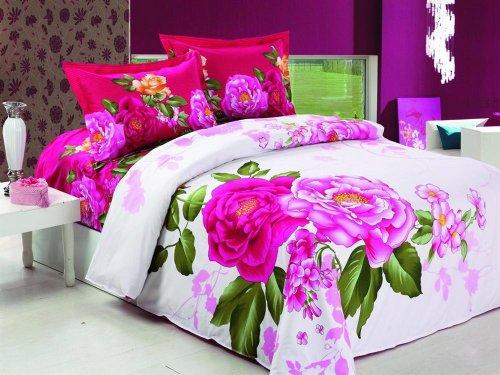Modern Floral Bedding
