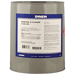 DYKEM 82838 Remover & Cleaner, 5 gal, Clear