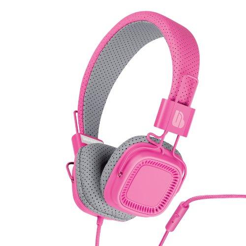 Urban Beatz Verse Headphone With Mic - Pink Flambe (M-Hm820)
