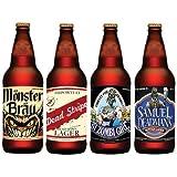Halloween Beer Bottle Stickers (12 count)