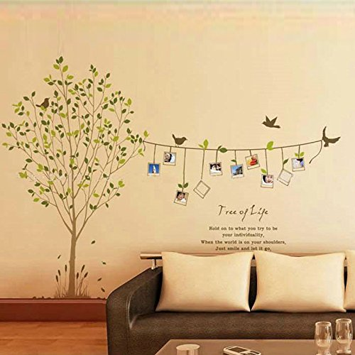 Photo Frames Tree DIY Removable Art Vinyl Wall Sticker Decor Mural Decal