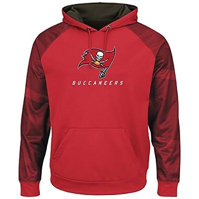 """Tampa Bay Buccaneers Majestic NFL """"Armor 2"""" Men's Pullover Hooded Sweatshirt"""