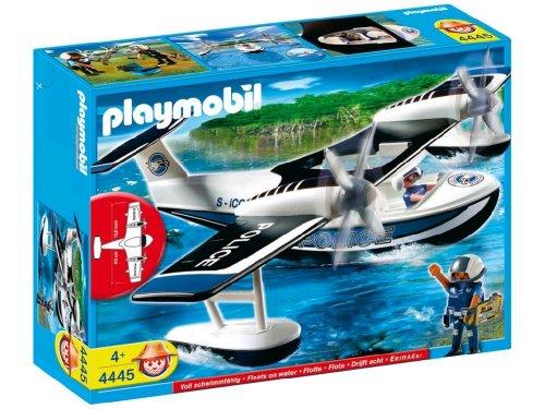 Jouet : Playmobil - 4445 - Policiers et hydravion