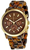 Michael Kors Womens MK5216 Chronograph Tortoise Watch