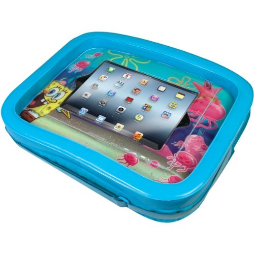 Cta Digital Nic-Sit The New Ipad(R) 3Rd Gen Spongebob Squarepants;Universal Activity Tray front-482046