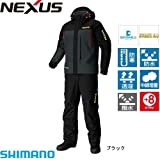 シマノ ネクサス DSコールドウェザースーツ RB-125P ブラック (M~XL) 防寒着 M