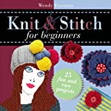img - for Knit and Stitch: For Beginners book / textbook / text book
