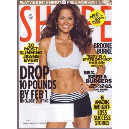 "SHAPE Magazine (Jan 2011) Brooke Burke ""Sexy is a State of"