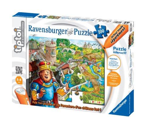Ravensburger - 00537 - Jeu Éducatif Électronique - Tiptoi - Puzzle - Le Château Fort
