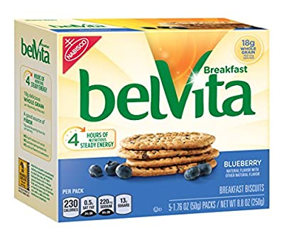 belVita Breakfast Biscuits, Blueberry, 8.8,Ounce (Pack of 6) by Belvita