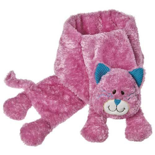 Mary Meyer Cheery Cheeks Giddy Kitty Plush Scarf - Pink front-908147