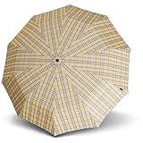Knirps Long AC Umbrella 92 cm braun check