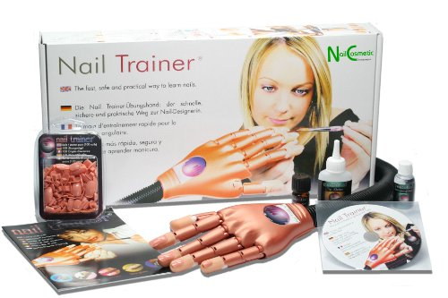 Nail Trainer / practice hand - Your perfect model -