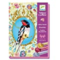 Djeco Birds Glitter Board Craft Kit