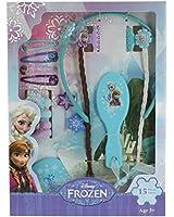 Disney Frozen - T14991 - Grand Set D'accessoires Pour Cheveux - Reine Des Neiges