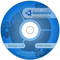 Kubuntu Linux 11.10 [32-bit CD] Includes Quick-Reference Sheet