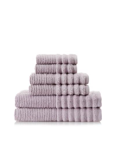 Espalma Boucle Rib 6-Piece Towel Set, Lavender