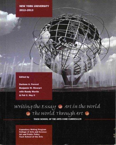 Writing the Essay (Custom Edition New York University 2012 - 2013)
