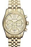 Michael Kors Women's MK5556 Gold Stainless-Steel Quartz Watch with Beige Dial