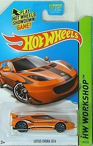 2014 Hot Wheels Lotus Evora GT4 (Orange) K-Day Kmart Exclusive