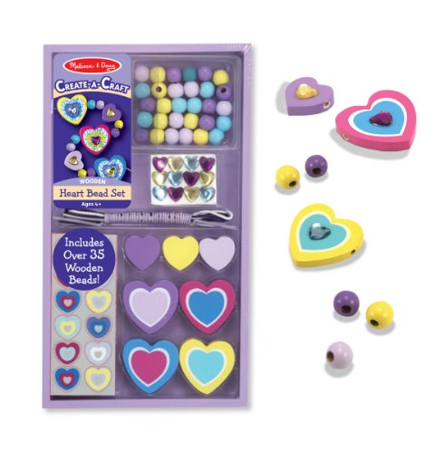 Melissa & Doug Heart Bead Set
