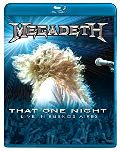 Megadeth: That One Night: Live in Buenos Aires [Blu-ray]