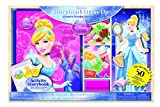 Artistic Studios Disney Princess Storybook Dress Up Magnetic Wooden Doll Set, 50-Piece