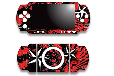 Sony PSP Slim Skin Decal Sticker - Northstar Red