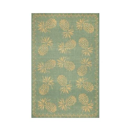 Amazon Tommy Bahama Rugs Thatcher Pineapple Aqua