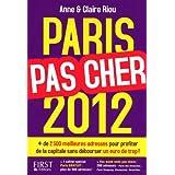 Paris pas cher 2012par Claire Riou