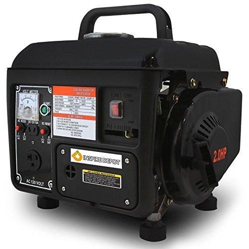 LOMIC 1200 Watt Portable Gasoline Electric Gas Generator Power 2 Stroke RV Camping EPA