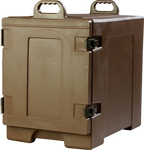 Carlisle PC300N01 Cateraide Insulated Front End Loading Food Pan Carrier, 5 Pan Capacity, Brown (Food Equipment compare prices)